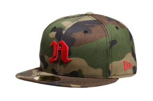 Nitraid x New Era Camo Fitted Cap