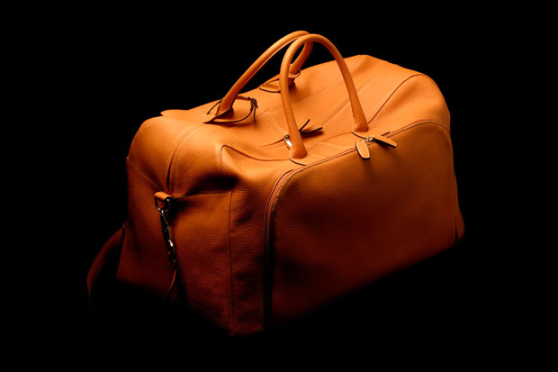 Peter Johnston Leather Holdall