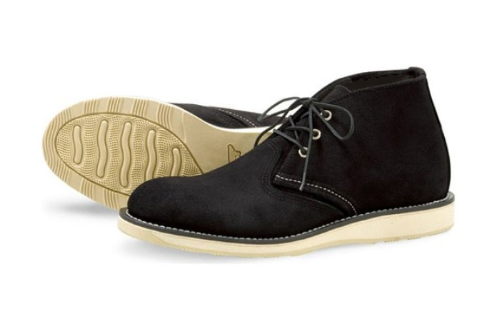 "Red Wing Shoes 2011 Fall ""Black Abilene"" Chukka"