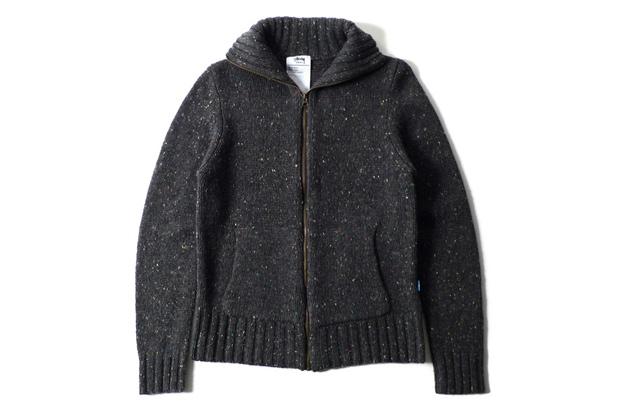 Stussy Tundra Full Zip Sweater