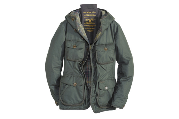 Tokihito Yoshida x Barbour Hooded Hunter Jacket