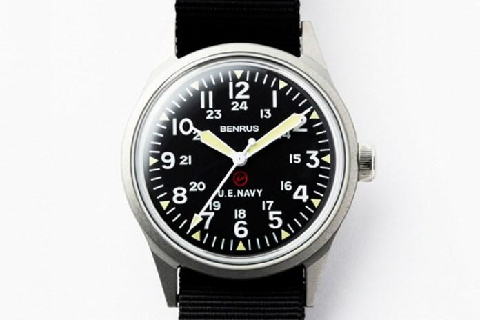 uniform experiment x BENRUS ORIGINAL MILITARY WATCH