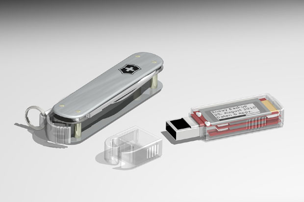 Victorinox Secure SSD Swiss Army Knife