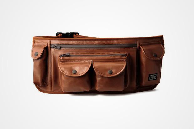 "White Mountaineering x Porter ""Urban Supply Series"" Leather Waist Bag"