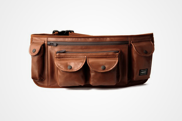 "White Mountaineering x Porter ""Urban Supply Series"" Leather Waist Bag"