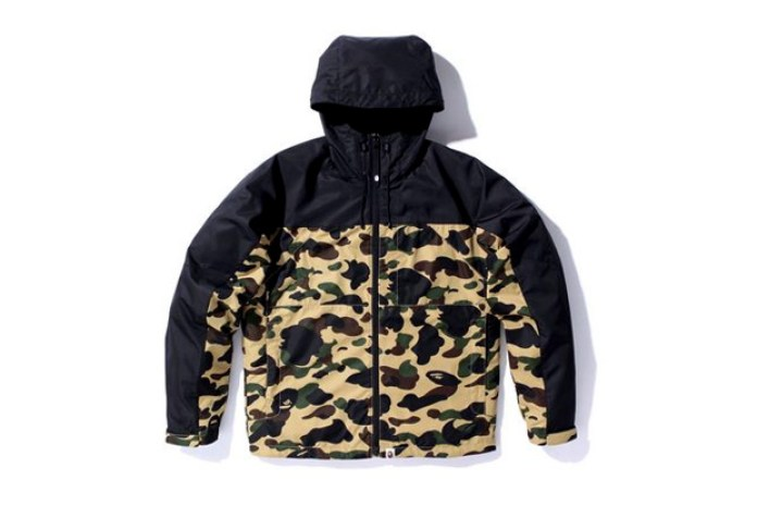 A Bathing Ape 1st Camo Lightweight Jacket