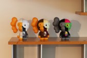 A Bathing Ape Baby Milo x KAWS Dissected Companion Toy - A Closer Look