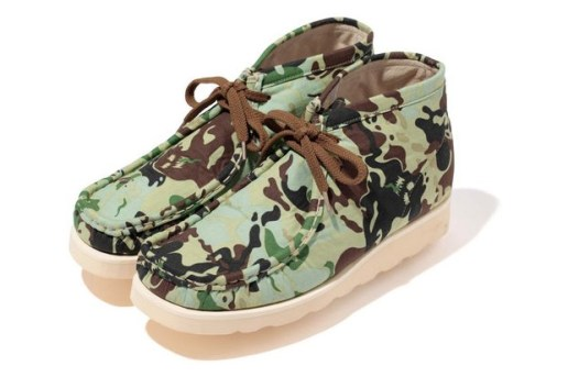 A Bathing Ape OCTOPUS TAILOR CAMO MANHUNT