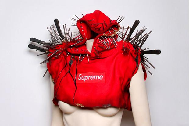 A-Morir x Supreme Hoody for Lady Gaga
