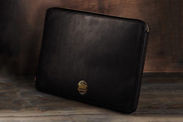 "Acne ""EINSTEIN"" Leather Laptop Case"