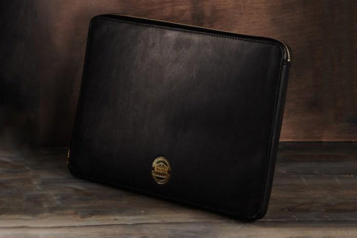 """Acne """"EINSTEIN"""" Leather Laptop Case"""