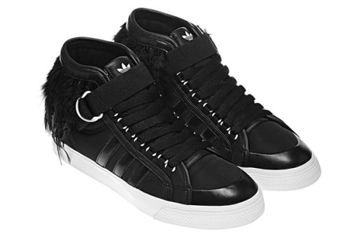"adidas Originals Nizza Hi Lux Leather ""Crow"""