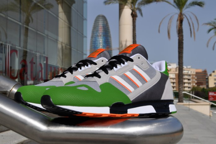 adidas Originals ZX800 Aluminum/Lime