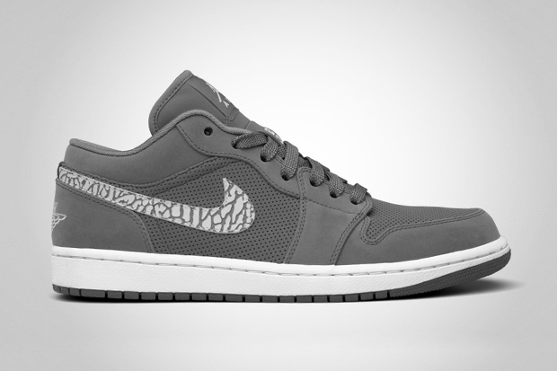 Air Jordan 1 Phat Low Cool Grey/White