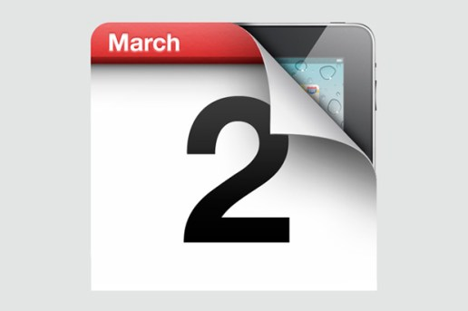 Apple Announces March 2 iPad Event
