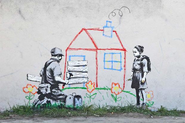 Banksy in Hollywood Part 2