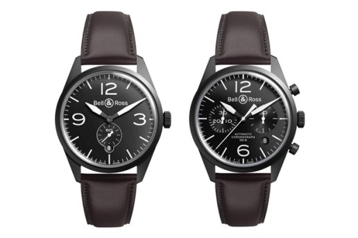 Bell & Ross Vintage Original Carbon Watches