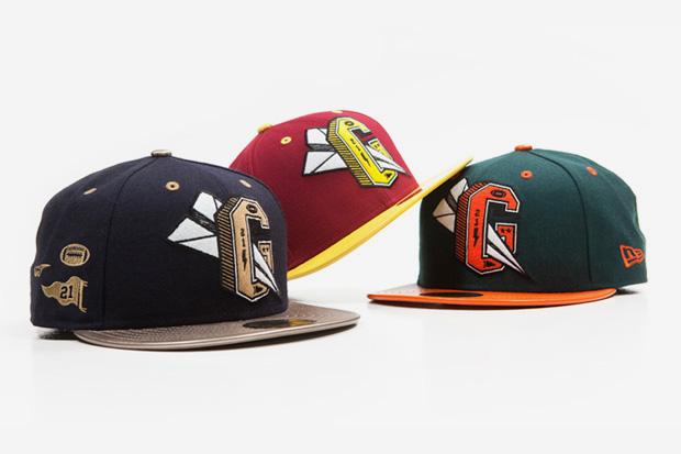 Benny Gold Varsity New Era Caps