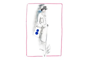 Chanel and colette Meet in Rue Saint Honore