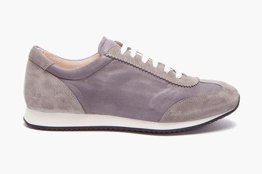Common Projects Running in Sneakers