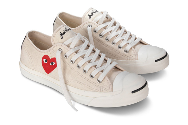 comme des garcons play x converse jack purcell hypebeast. Black Bedroom Furniture Sets. Home Design Ideas