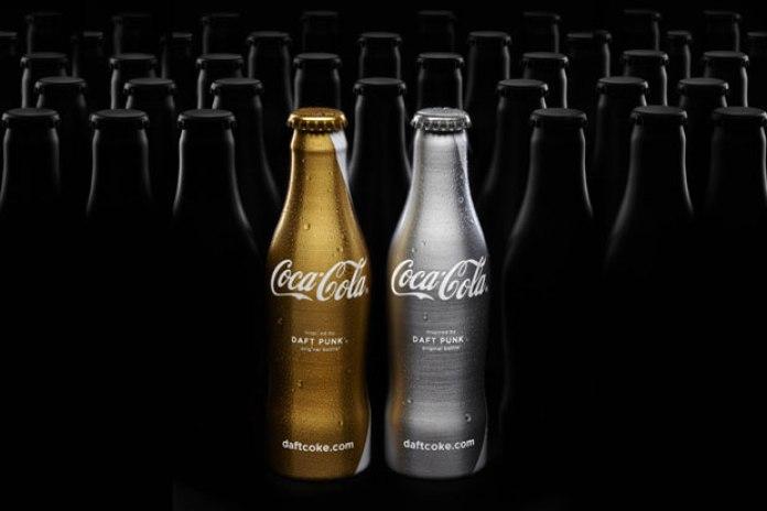 "Coca-Cola Club Coke ""Daft Punk"" Limited Edition Bottles"