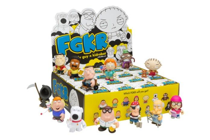 Family Guy x Kidrobot Collection