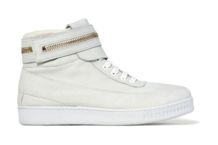 Givenchy Zipper High Top Sneaker