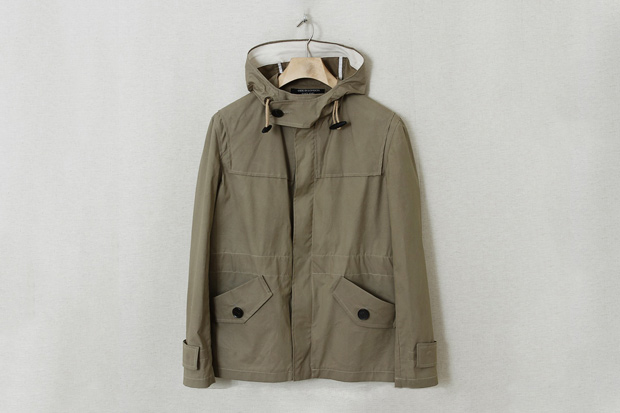 Gloverall Hooded Wax Jacket