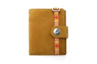 hobo Nubuck Leather Wallet