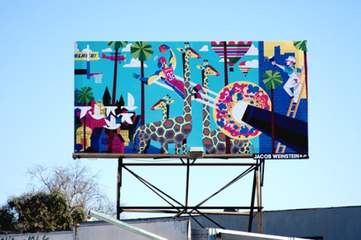 Jacob Weinstein x UNDFTD Billboard Project