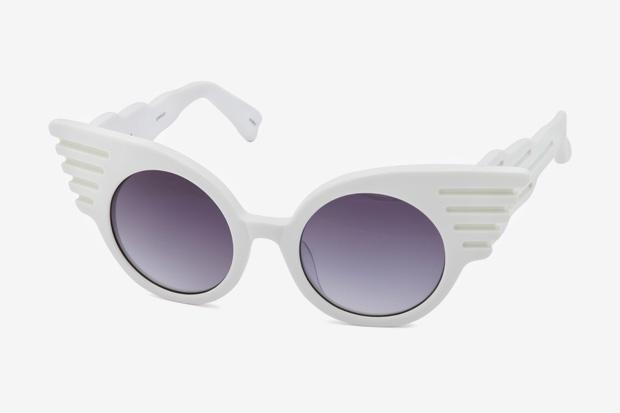 "Jeremy Scott x Linda Farrow ""Wings"" Sunglasses"