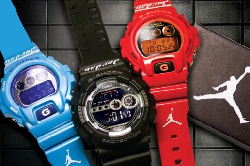 Jordan Brand x Casio G-Shock Watch Collection