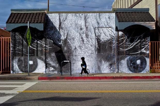 JR in Los Angeles