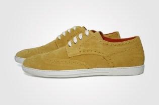 Junya Watanabe COMME des GARCONS MAN x Tricker's Suede Brogue Sneaker