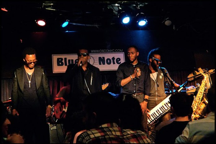 Kanye West, Mos Def & Lupe Fiasco Freestyle Cypher at Blue Note NYC