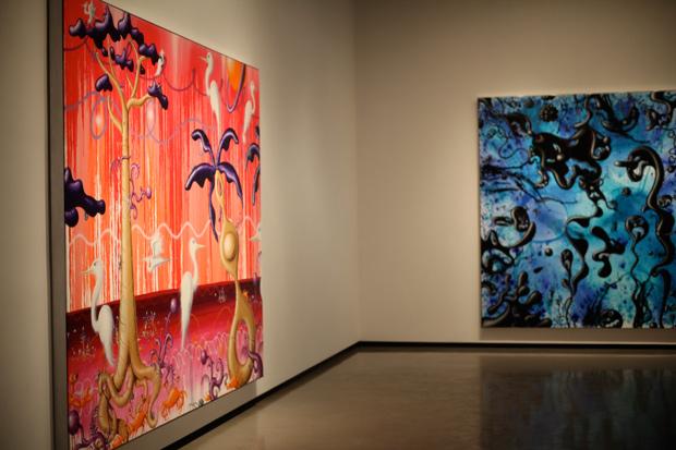 "Kenny Scharf ""NATURAFUTURA"" & ""THREE DOZEN!"" Exhibition Recap"