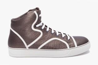 Lanvin Tennis Mi Haute Sneaker
