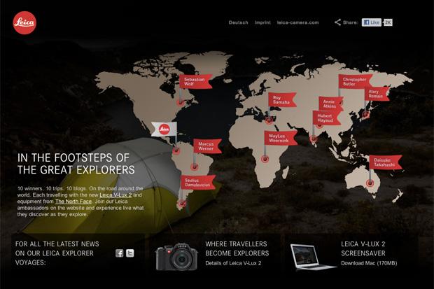 Leica Explorer Campaign