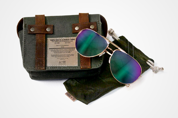 Mosley Tribes x Temple Bags Co. for Barneys CO-OP Sunglasses Case