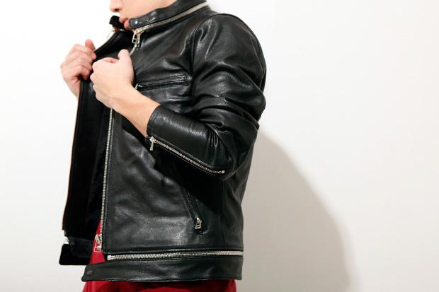 N.HOOLYWOOD Lamb Leather Jacket