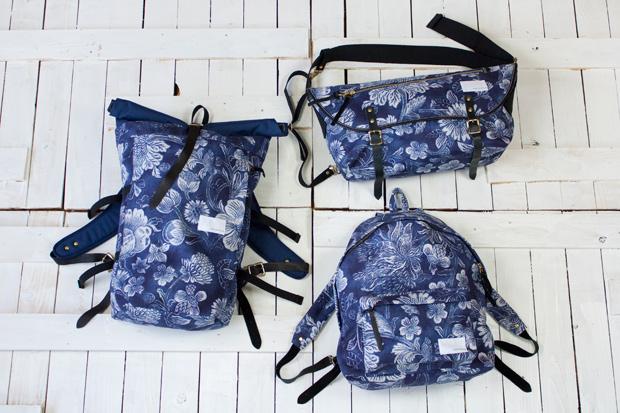 nanamica 2011 Spring/Summer Floral Bag Collection