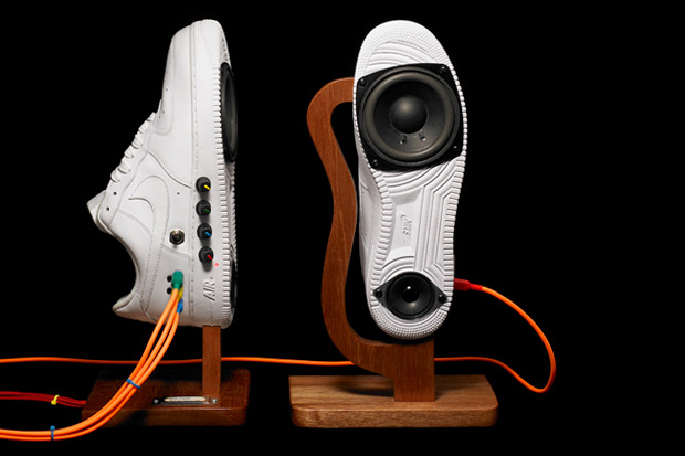 "NASHMONEY Air Force 1 ""Sneaker Speakers"""