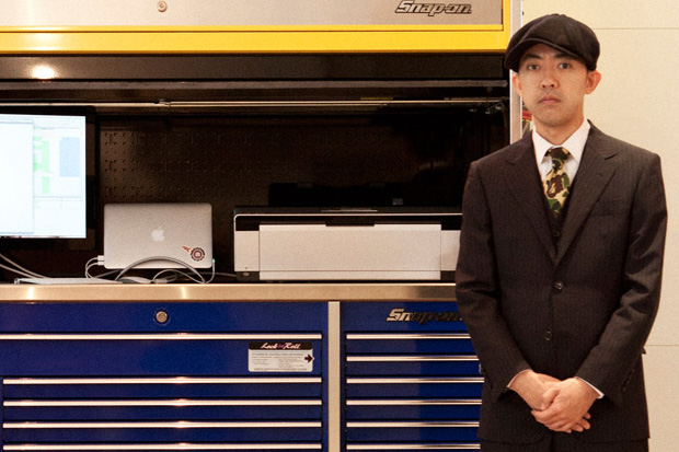 NIGO Introduces His Office for MR PORTER