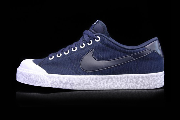 Nike All Court Canvas Obsidian/White