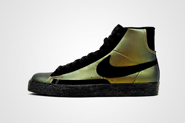 Nike Blazer Foamposite Metallic Gold