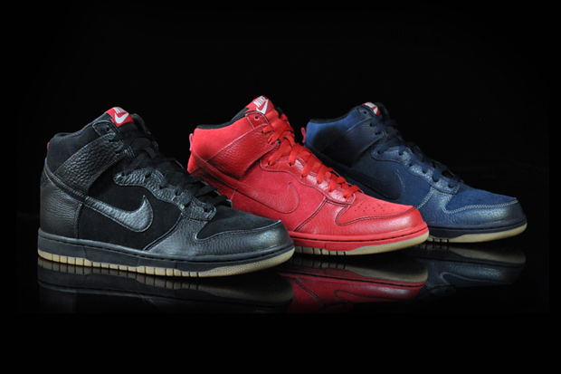 """Nike Sportswear Dunk High """"Be True To Your Street"""" Leather Pack"""