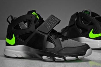 Nike Zoom Huarache Trainer Black/Cool Grey/Volt