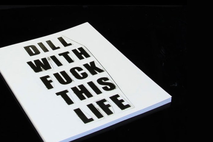 "OHWOW x Supreme ""DILL WITH FUCK THIS LIFE"" Book"