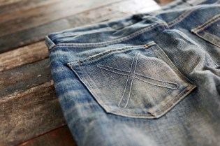 OriginalFake Damaged Denim